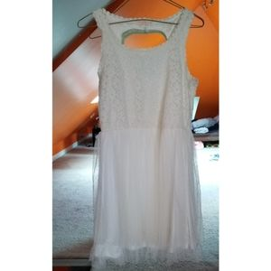 Beautiful White/Ivory Lace Dress
